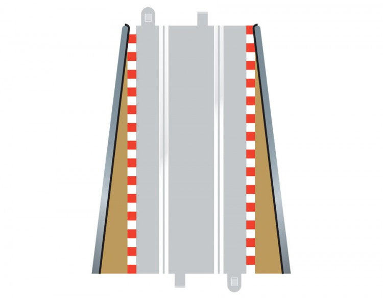 Scalextric C8233 - Lead In/Out Borders (2x)