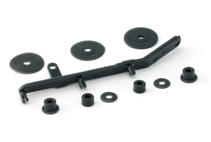 Slot.It CH98 - Tensioner, Flanges and Spacer Set for 4WD system