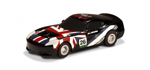 Micro Scalextric G2159 - Micro GT Car - Black #26 (1/64th)