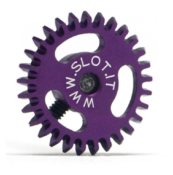 Slot.It GA1626/27/28/29/30/31E - Anglewinder Crown (26-31 Tooth, Ø16mm), Ergal