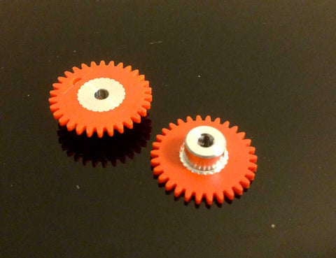 ThunderSlot GE30SWP - Spur Gear Plastic 32 Teeth dia. 17mm (orange)