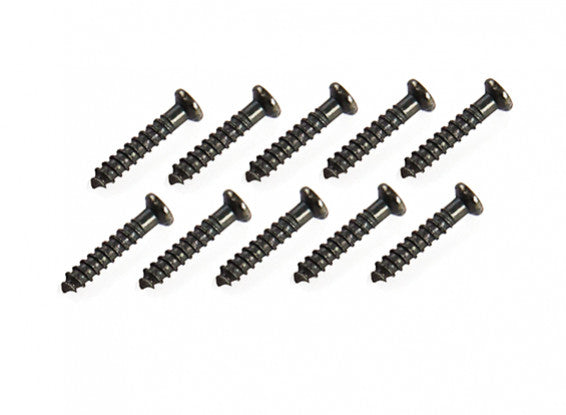 WLToys K989-16 - Pan Head, Tapping Screws (7x1.3)mm (10x)