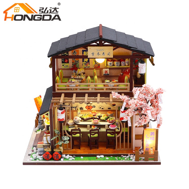 M2011Z - Gibbon Sushi (w/acrylic dust cover, tool set, musical box)