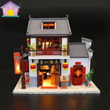 M901Z - Dragon Gate Inn (w/acrylic dust cover, tool set, musical box)