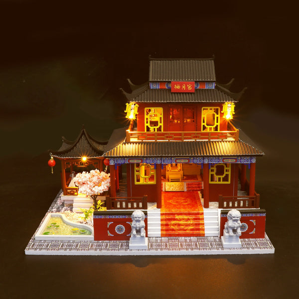 "M909Z - ""Eternal Love"" Chinese Palace (w/acrylic dust cover, tool set, musical box)"