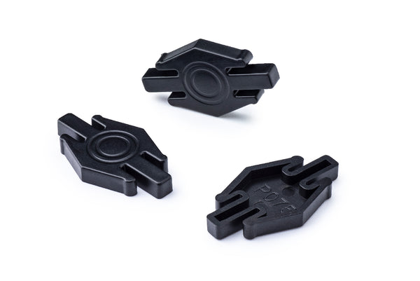 Policar P075-10 - Locking Clips for Curves (10x)