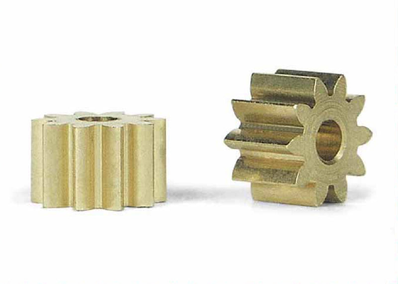 Slot.It PS10/11/12/13 - Brass Pinions, 10-13 Teeth, Ø6.5mm (2x)
