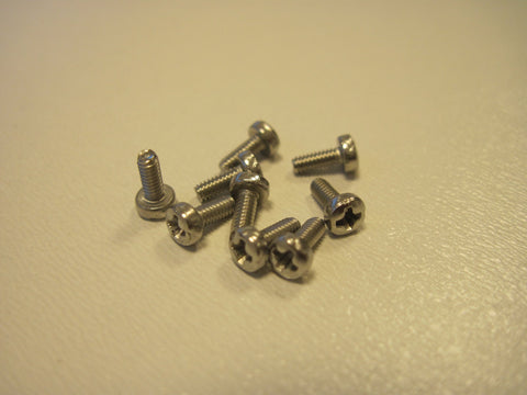 ThunderSlot SC003X - Cross Head Metric Screws (5x2)mm (10x)