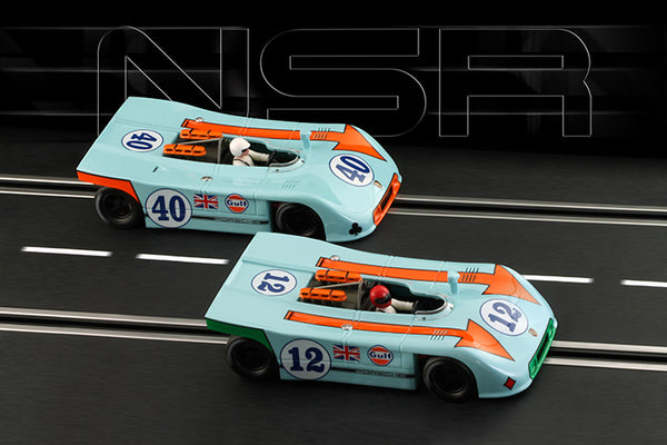 NSR-Set 09 1of2 Porsche 908/3 1st & 2nd Targa Florio 1970 Ltd. Ed. #12 & #40