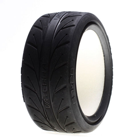 Vaterra VTR43011 - Front (67x26)mm, V1 Performance S Compound Tire w/Inserts (2x)