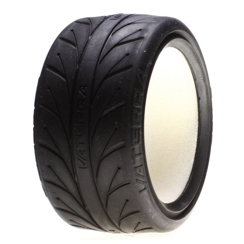 Vaterra VTR43012 - Rear (67x30)mm V1 Performance S Compound Tire, w/Inserts, (2x)