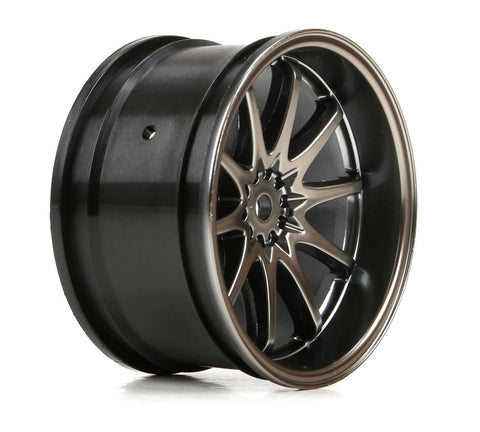 Vaterra VTR43036 - Front 54x30mm Volk Racing CE28N Wheels, Gun Metal