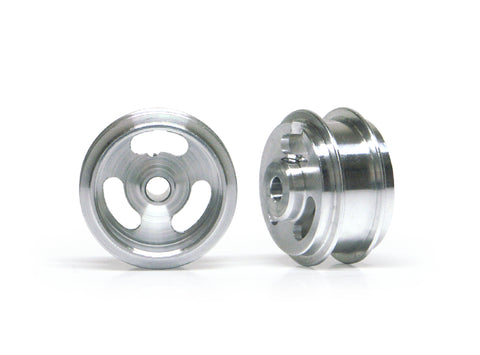 Slot.It W15808215AF - (Ø15.8x8.2x1.5)mm Aluminium Wheels, Double Shoulder, M2 Grub (2x)