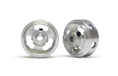 Slot.It W15808215M - (Ø15.8x8.2x1.5)mm Magnesium Wheels, Holed, M2 Grub (2x)