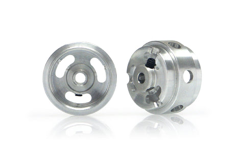 Slot.It W16510215M - (Ø16.5x10x1.5)mm Magnesium Wheels, Holed, M2 Grub (2x)