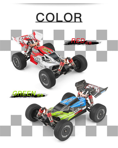 WLToys 144001 - 1/14th Scale, 4WD RC Buggy