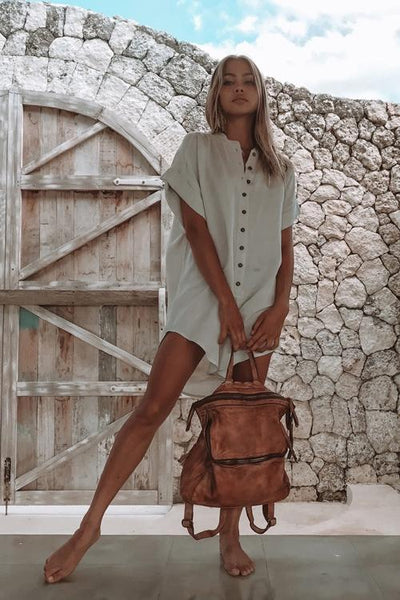 Martins Lane Playsuit / Sand