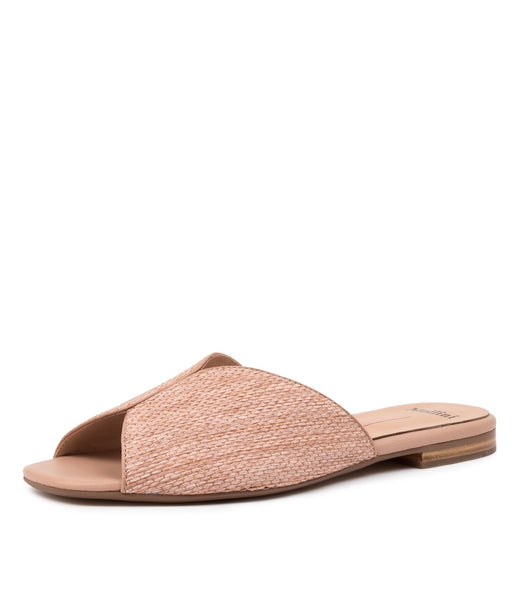 Arrie Slides / Nude Woven
