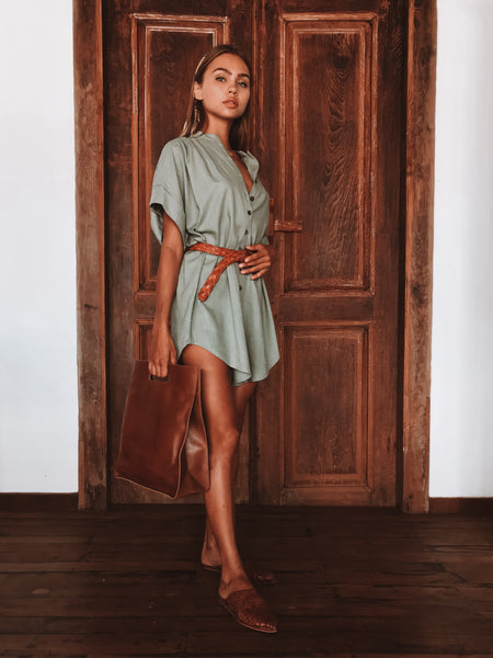 Martins Lane Playsuit / Tea