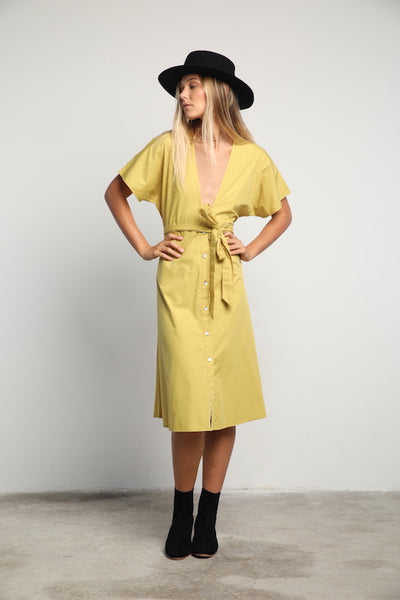 Lilya Mela Dress - Dandelion