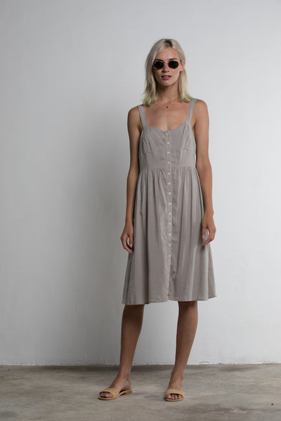 Lilya Gemini Dress / Taupe