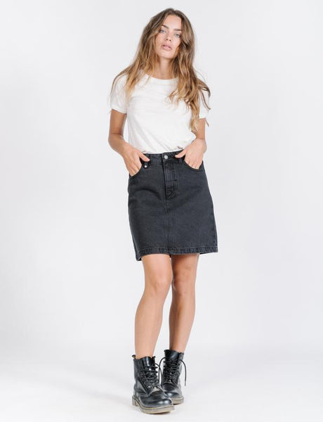 Jane Skirt / Faded Black