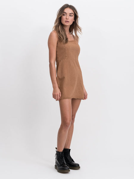 Poppy Dress / Tobacco