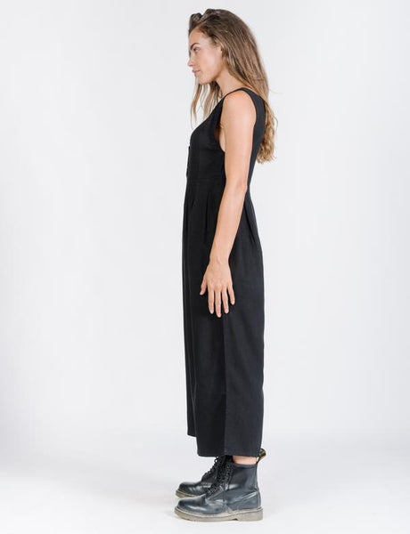 Kirby Jumpsuit / Washed Black