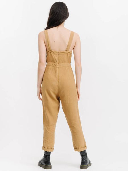 Sundown Jumpsuit / Golden Yellow Hemp