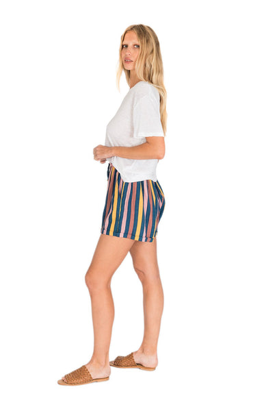 Billie Short / Multi Stripe