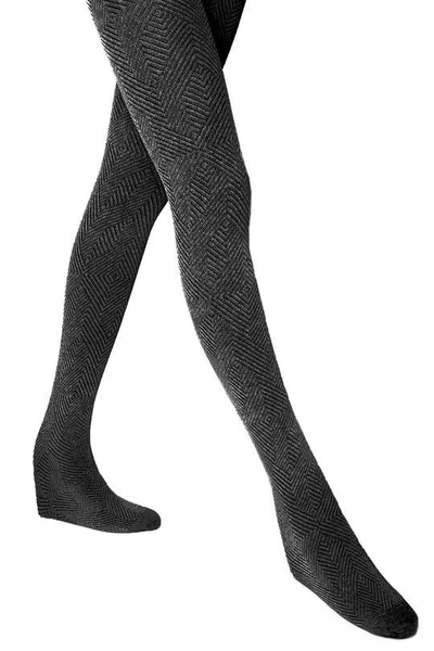 Mesop Gray Tights / Black