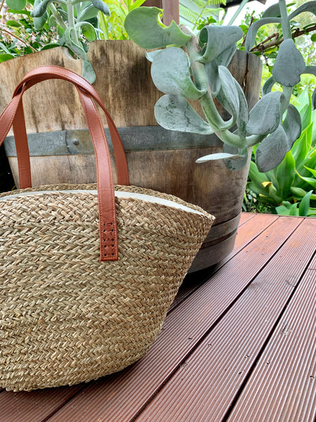 Canggu Straw Beach Bag / Natural