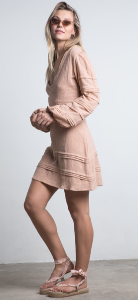 Mesa Mini Dress / Sandalwood