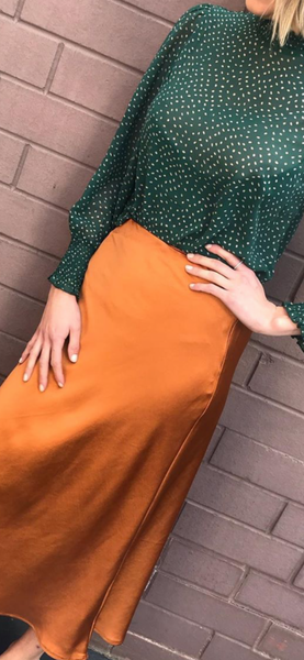 Eva Skirt / Copper
