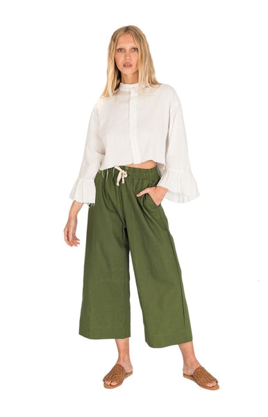 Molly Pant / Forest Green