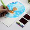 Viviva Colorsheets is an artist painting kit perfect travel watercolor set