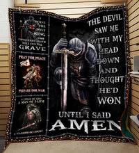 The Devil Saw Me With My Head Down Knight Templar Blanket 3D Full Printing HQD-QHG00038