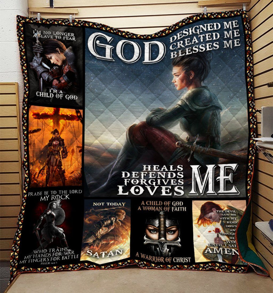 God Design Me - Love Me Knight Templar Blanket 3D Full Printing HQD-QHG00003