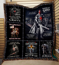 Armor of God Knight Templar Blanket 3D Full Printing HQD-QHG00041
