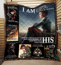 I am the Daughter of The King Knight Templar Blanket HQD-QHG00008