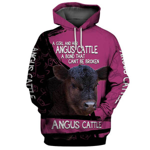 ANGUS CATTLE 3D Full Printing