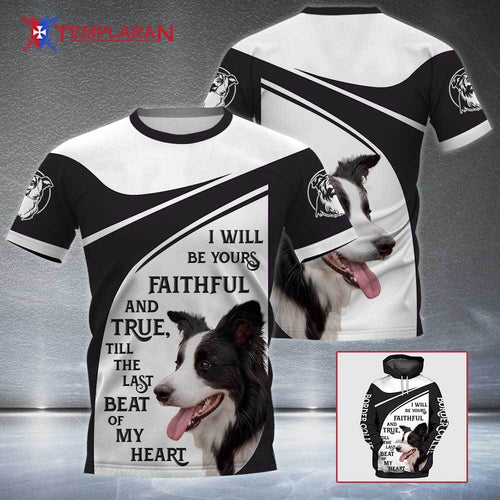 BORDER COLLIE Faithful and True 3D Full Printing