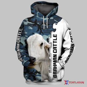 BRAHMAN CATTLE Limited edition 3D Full Printing