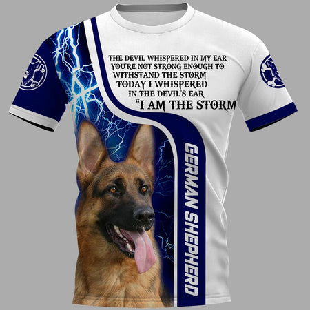 German Shepherd Limited edition 3D Full Printing