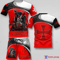 Knights Templar Limited edition 3D Full Printing