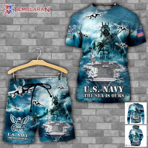 US Navy Limited edition 3D Full Printing