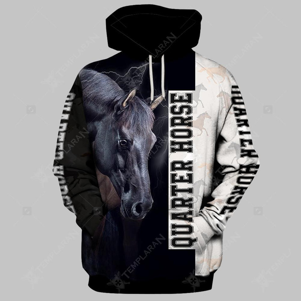 American Quarter Horse Limited edition 3D Full Printing