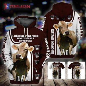 BROWN SWISS 3D Full Printing