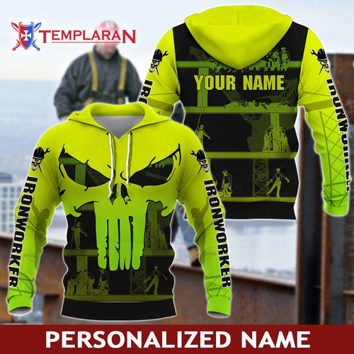 Personalized Name Ironworker 3D Full Printing