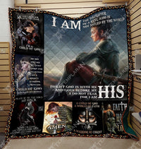 I am the Daughter of The King Knight Templar Blanket HQD-QHG000082